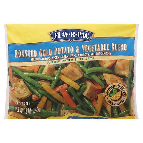 Flav-R-Pac Roasted Gold Potato & Vegetable Blend - 12 Oz