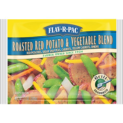 Flav-R-Pac Roasted Red Potato & Vegetable Blend - 12 Oz