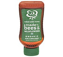 Naked Wild Organic Raw Honey - 16 Oz