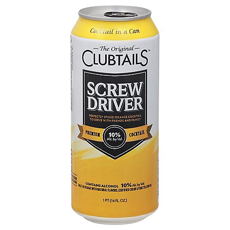 Clubtails Screwdriver - 16 Fl. Oz.