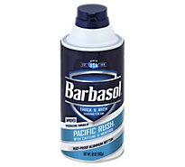 Barbasol Pac Rush Renovation Shaving Cream - 10 Oz