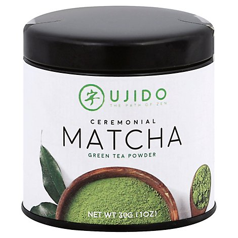 Ujido Tea Cermnial Green Matcha - 30 Oz