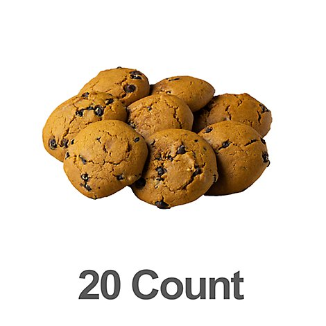 Cookies Pumpkin Choc Chip 20ct