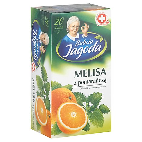 Babcia Jagoda Melisa Z Pomarancza Tea Pack Of 20 1.41 Oz - 1.41 Oz