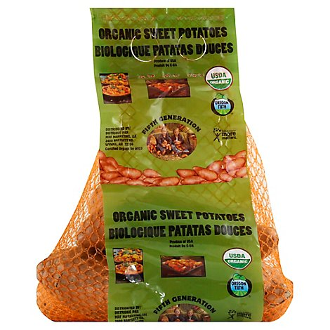 Potato Sweet Organic Bag 3lb - 3 Lb