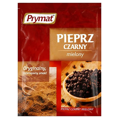 Prymat Black Pepper Ground - .71 Oz
