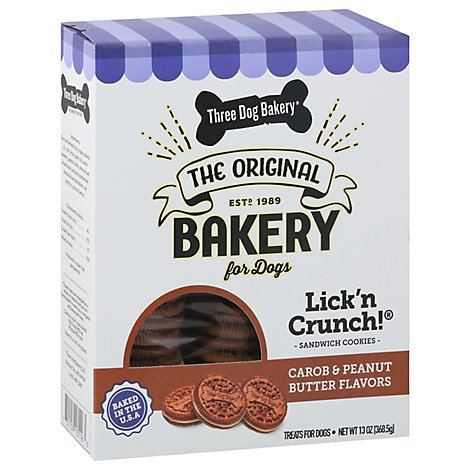 Three Dog Bakery Lickn Crunch - 13 Oz