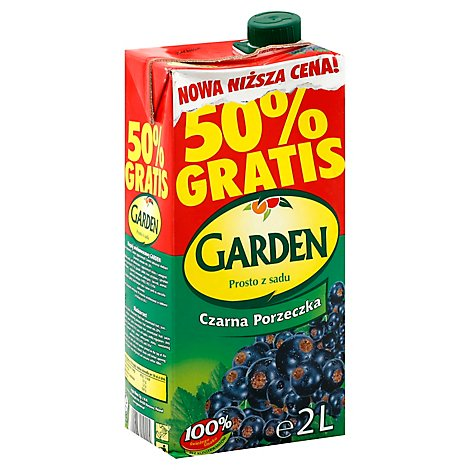Garden Black Currant Drink - 70.4Oz