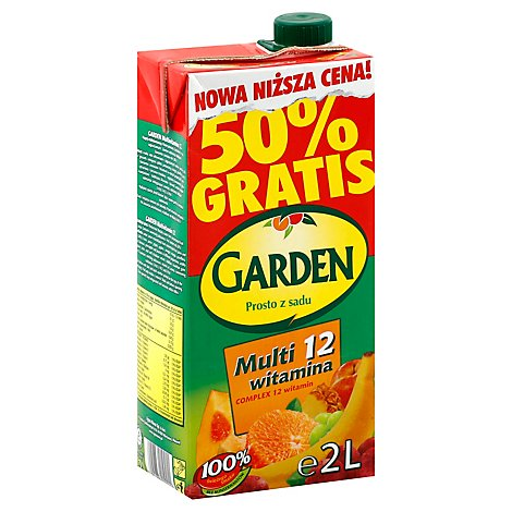 Garden Multifruit Drink - 70.4Oz
