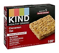 Kind Healthy Grains Cinnamon Granola Snack Bar - 6.2 Oz