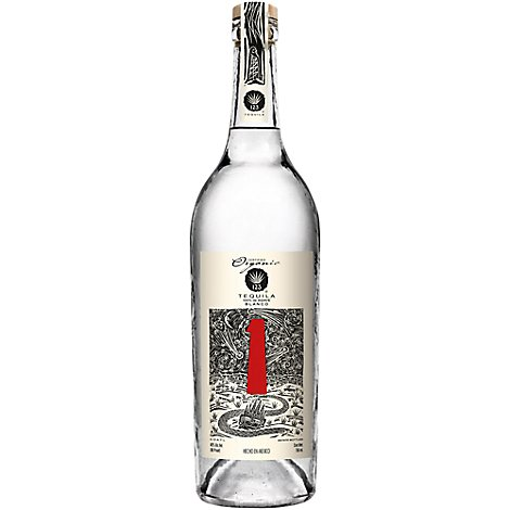 123 Tequila Organic Blanco 80 Proof - 750 Ml