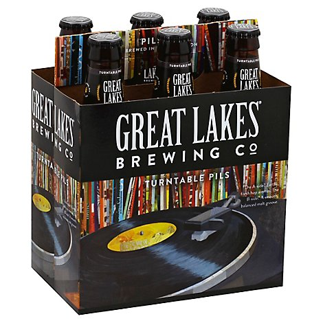 Great Lakes Turntable Pilsner - 6-12 Fl. Oz.