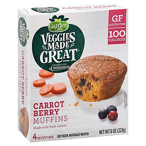 Classic Cooking Muffin Veg Berry - 8 Oz