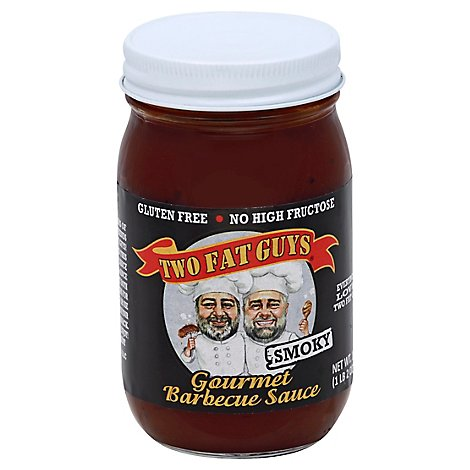 Two Fat Guys Smoky Gourmet Bbq Sauce - 18 Oz