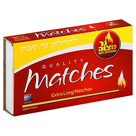 Ner Mitz Long Matches - 1 Each
