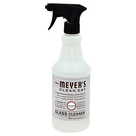 Mrs Meyers Lavender Glass Cleaner Spray - 20 Oz