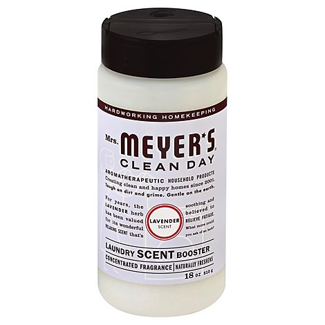 Mrs. Meyers Clean Day Laundry Scent Booster Lavender Scent - 18 Oz