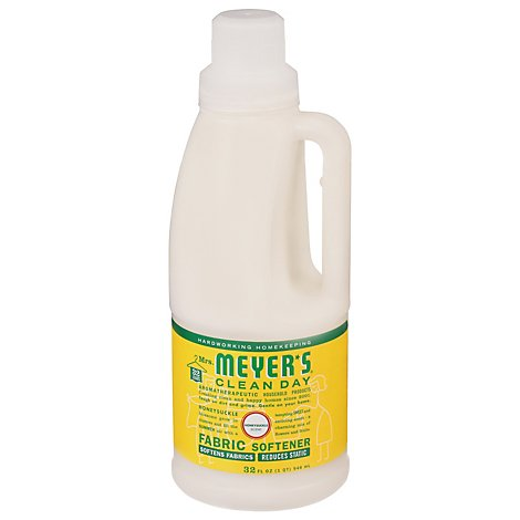 Mrs. Meyers Clean Day Fabric Softener Honeysuckle Scent - 32 Fl. Oz.