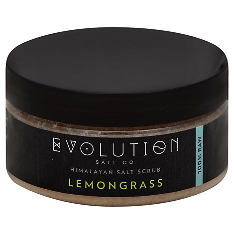 Evolution Lemongrass Body Scrub - 12 Oz