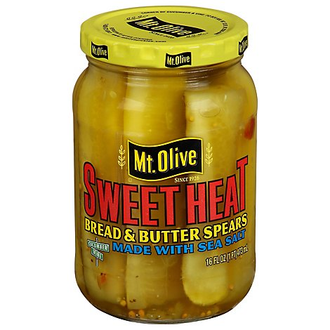 Mt Olive Sweet Heat - 16 Oz
