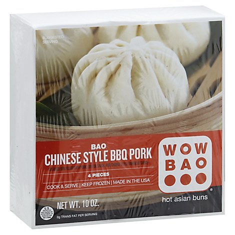 Wow Bao Bbq Pork Bun, 10 Oz - 10 Oz.