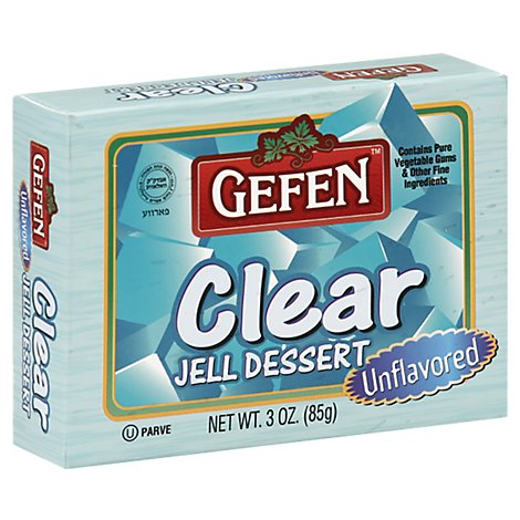 Gefen Clear Unflavored - 3 Oz