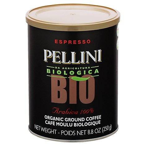 Pellini Coffee Arabica Organic - 8.8 Oz