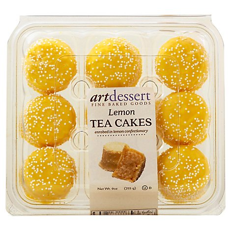 Lemon Tea Cakes - Each