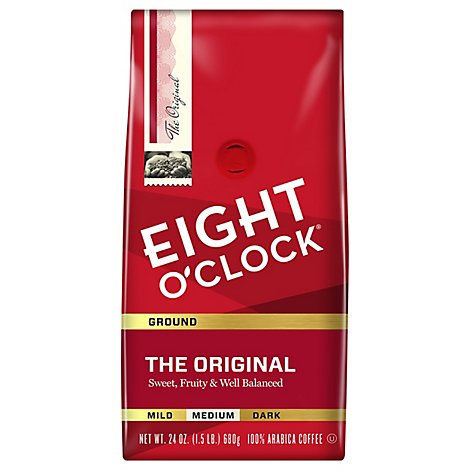 Eight O Clock Orignal Medium Ground Coffee - 24 Oz