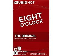 Eight O Clock Coffee Kcup The Original 12ct - 4.2329 Oz