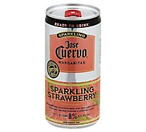 Jose Cuervo Lime Strawberry Margarita Cans - 200 Ml
