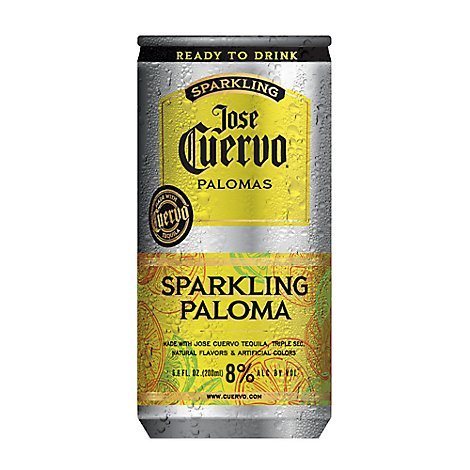 Jose Cuervo Paloma Rtd Can - 4-200 Ml