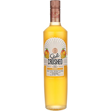 STOLICHNAYA Vodka Crushed Mango 60 Proof - 750 Ml