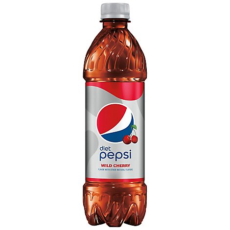 Diet Pepsi Wild Cherry Soda - .5 Liter