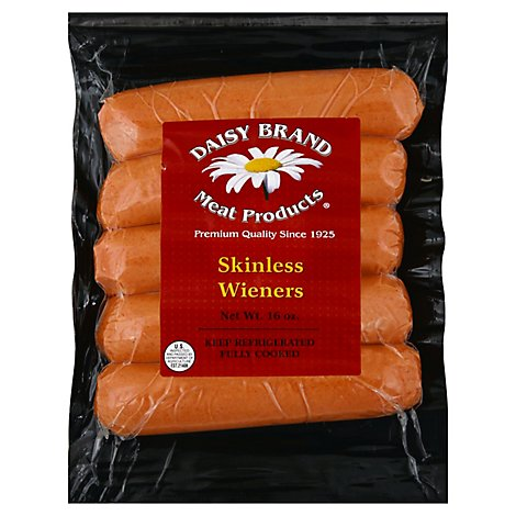Daisy Skinless Franks - 16 Oz