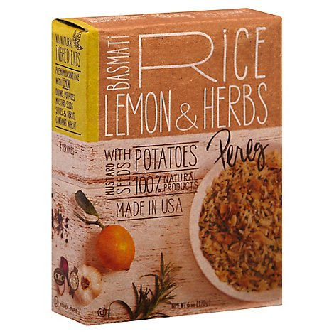 Pereg Lemon Herb Basmati Rice Mix - 6.4 Oz