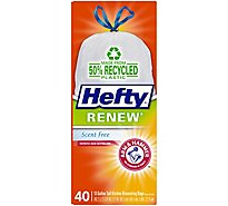 Hefty 13 Gallon Trash Bags - 40 Count