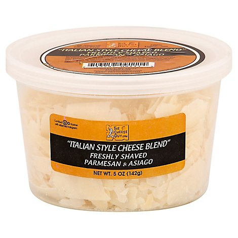 Cheese Guy Shaved Italian Blend Cheese - 5 Oz