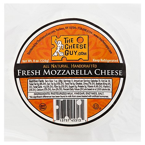 Cheese Guy Fresh Mozzarella - 8 Oz