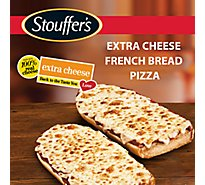 STOUFFERS Pizza French Bread Extra Cheese Frozen - 11.75 Oz