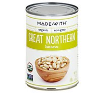Made With Organic Great Northern Beans - 15 Oz