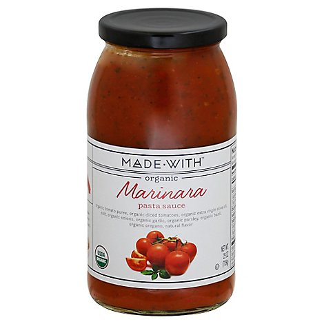 Made With Sauce Pasta Sauce - 25 Oz