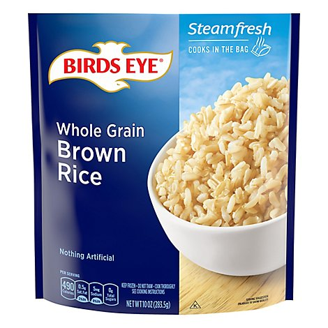 Birds Eye Steamfresh Rice Brown Whole Grain - 10 Oz