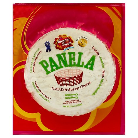 Nuestro Queso Cheese Basket Soft Panela - 10 Oz