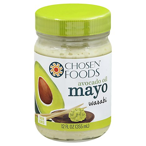 Chosen Foods Mayo Avocado Oil Wasabi - 12 Oz