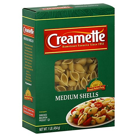 Creamette Medium Shells - 16 Oz