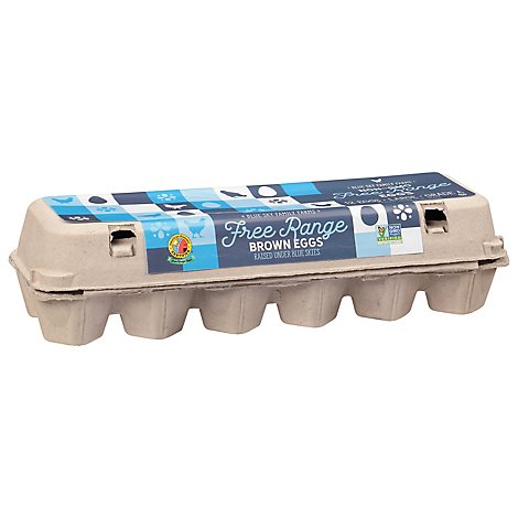 Ei Free Range Large Eggs - 12 Count