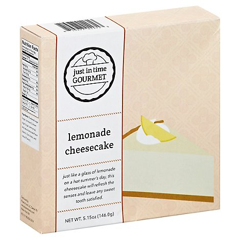 Just In Time Gourmet Lemon Bar Mix - 5.15 Oz