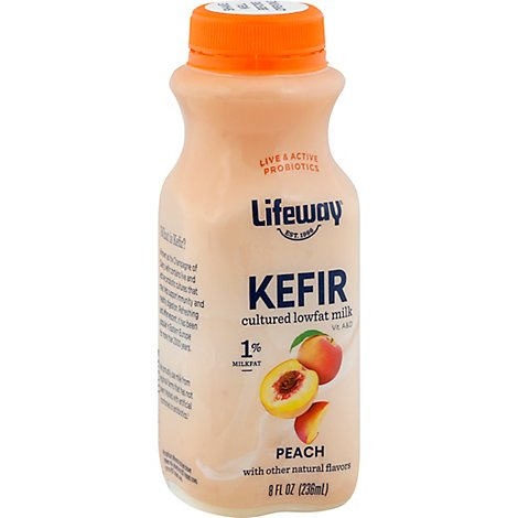 Lifeway Kefir Low Fat Cultured Milk Smoothie - 8 Fl. Oz.