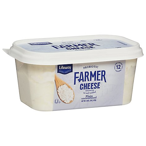 Lifeway Premium Farmer Cheese - 16 Oz